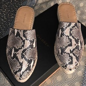 Snake skin Halogen shoes